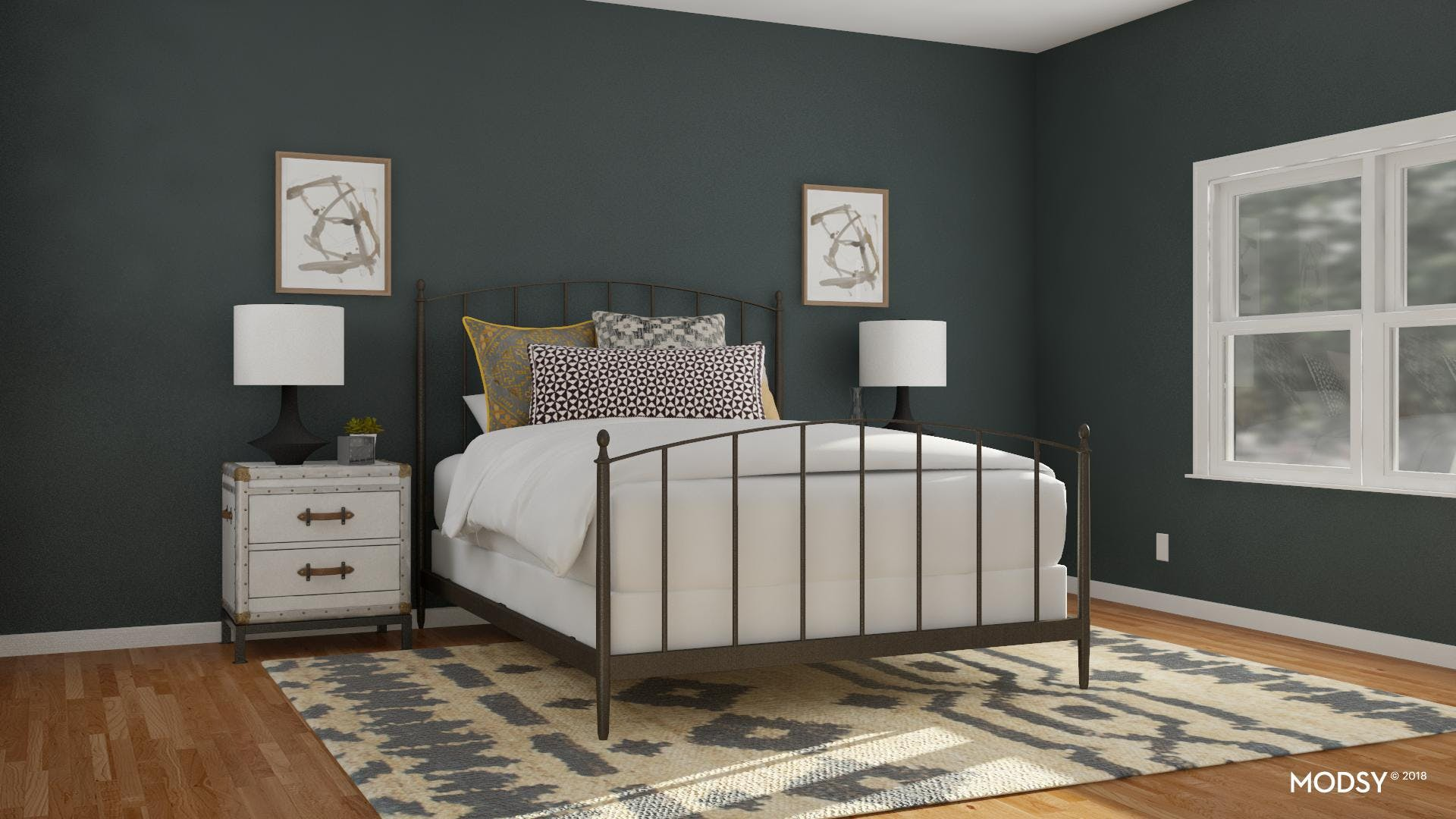 The Power Of A Stylish Bedroom Rug