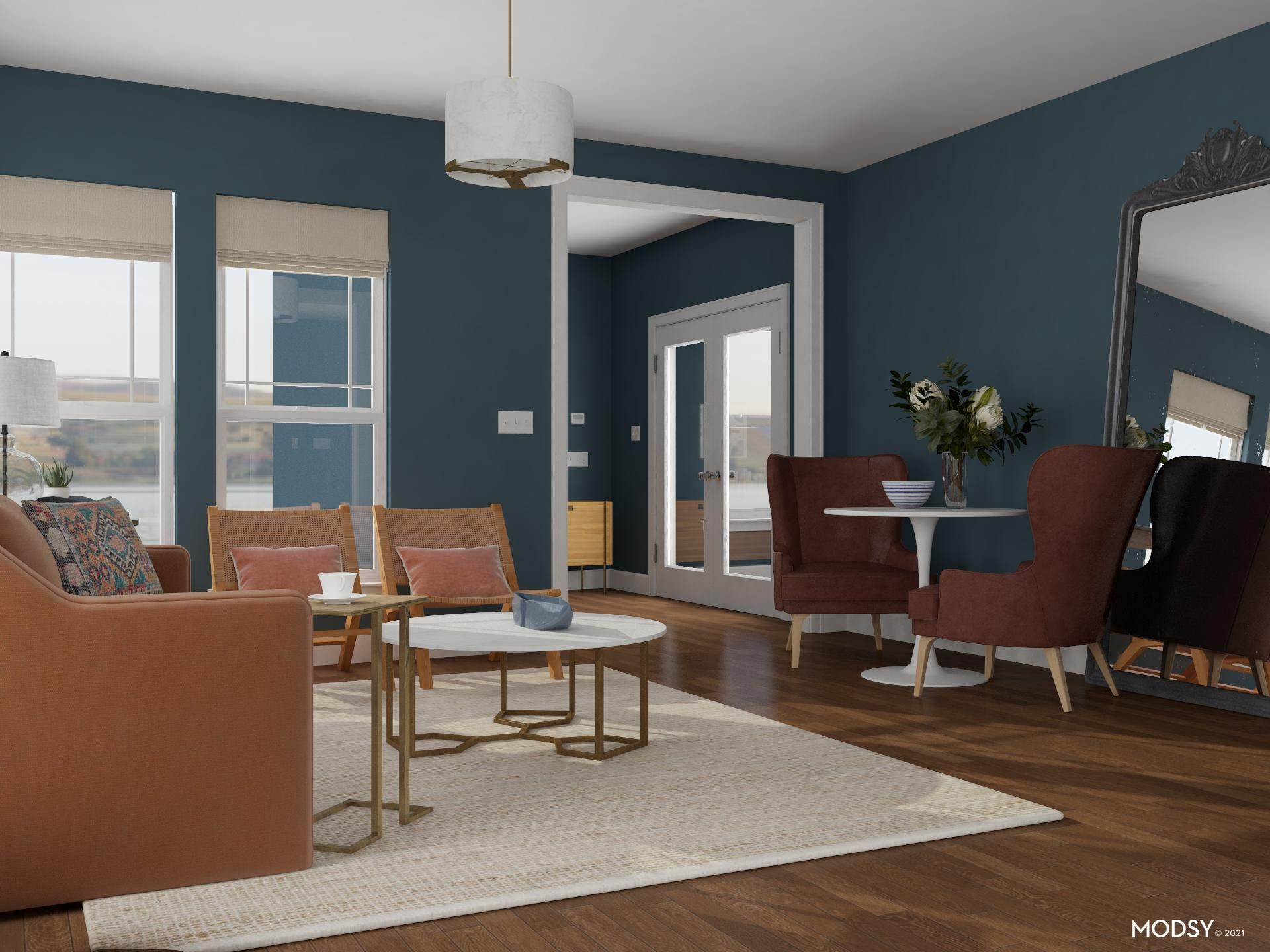 Bistro Dining In The Living Room