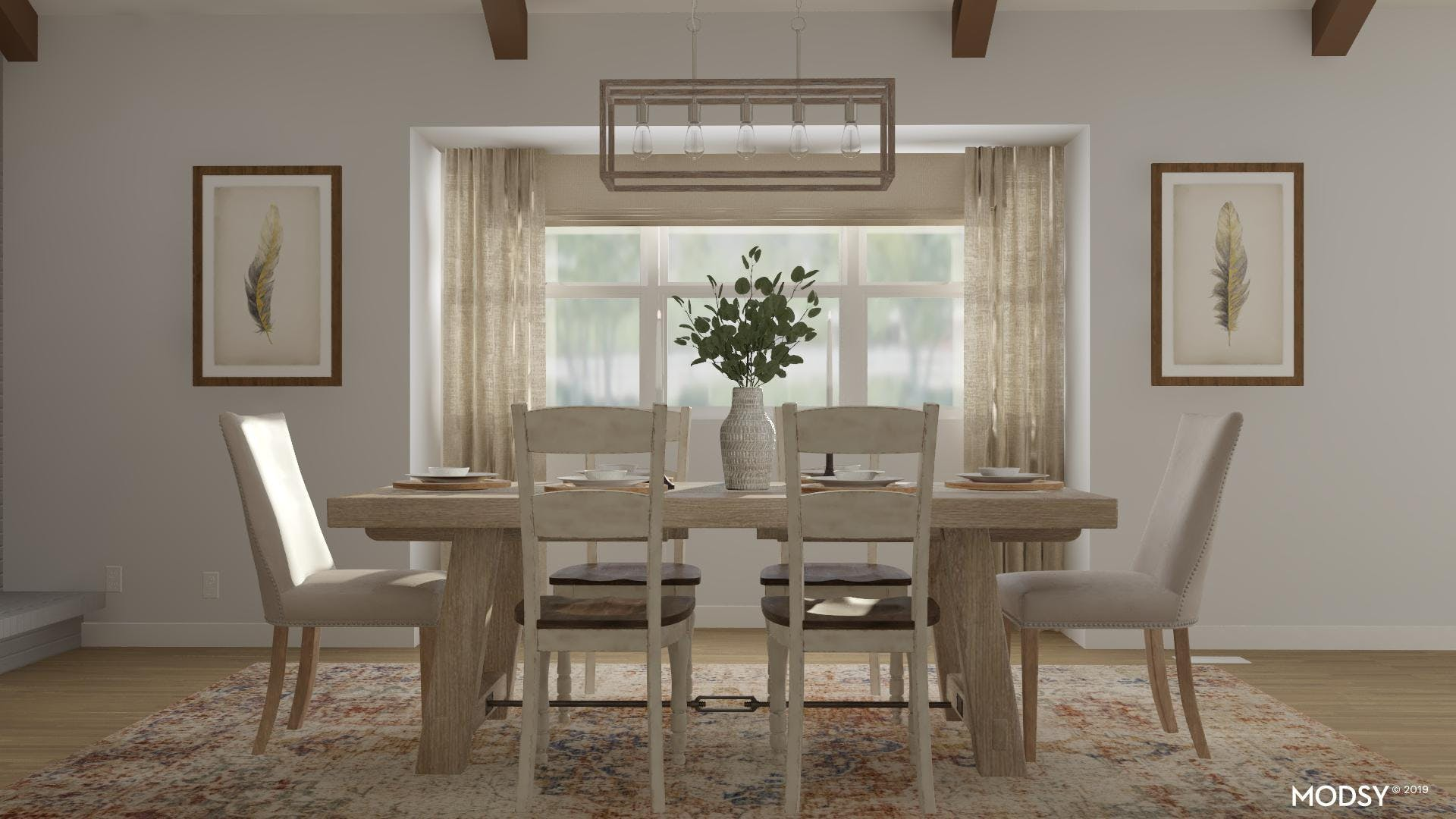Rustic Dining With A Touch Of Class