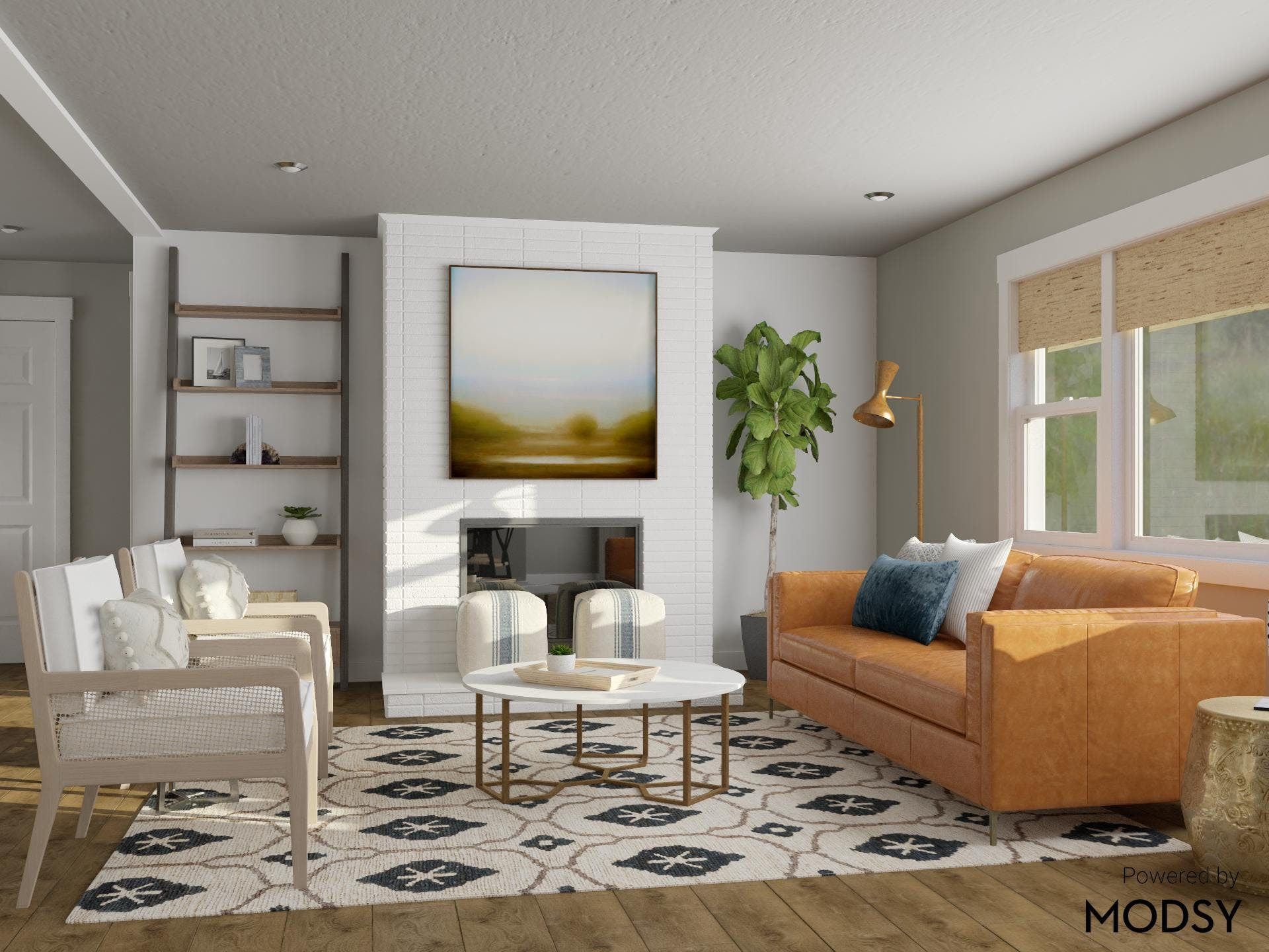 Modern Aesthetic Meets Rustic Warmth