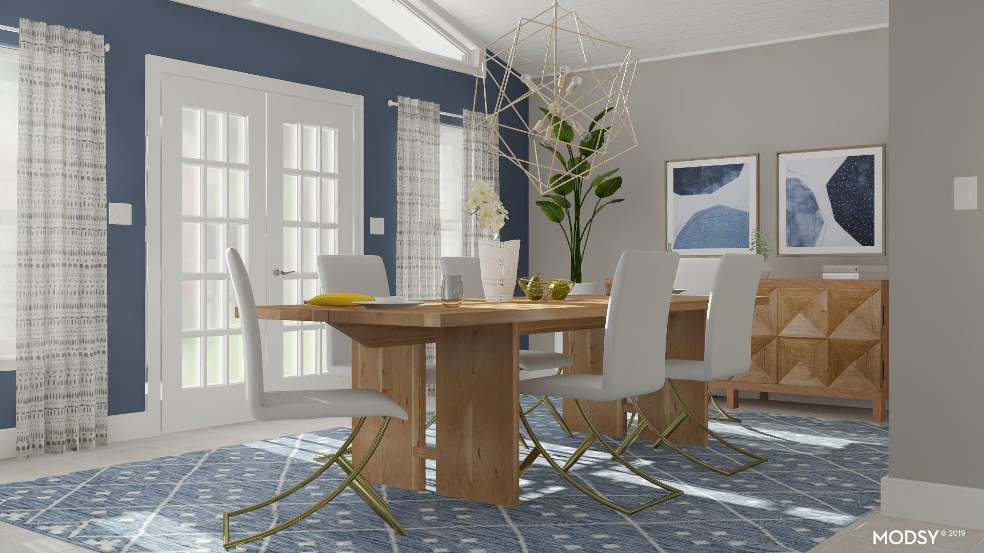 Classic and Comfortable Dining Room